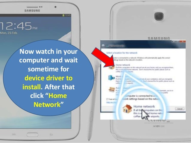 how to connect internet with a samsung gaxyi
