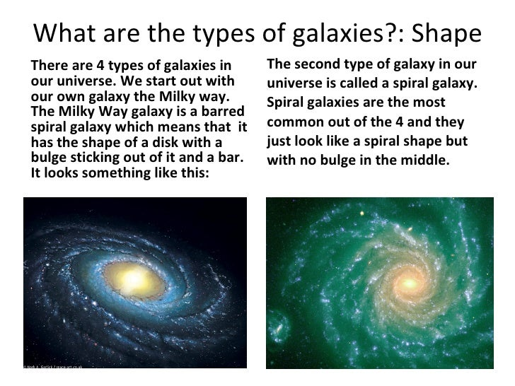 types of galaxies spiral - photo #28