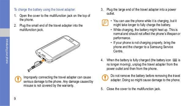 samsung galaxy s user manual rh slideshare net Samsung ManualsOnline samsung fast charge battery pack user manual