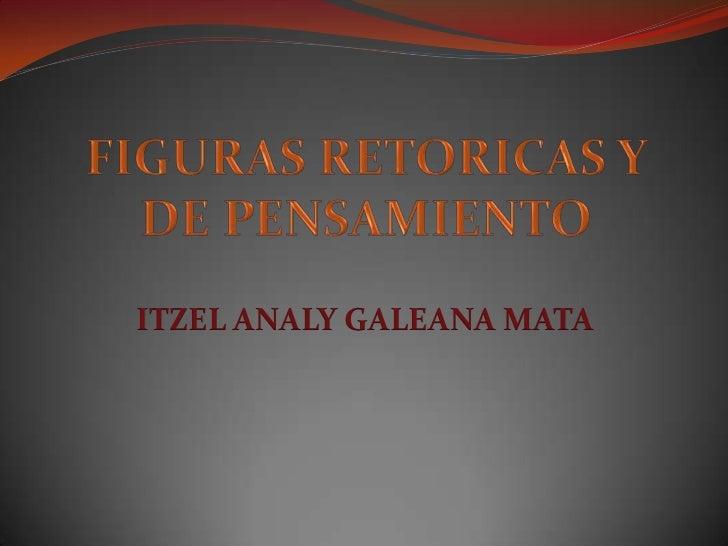 ITZEL ANALY GALEANA MATA
