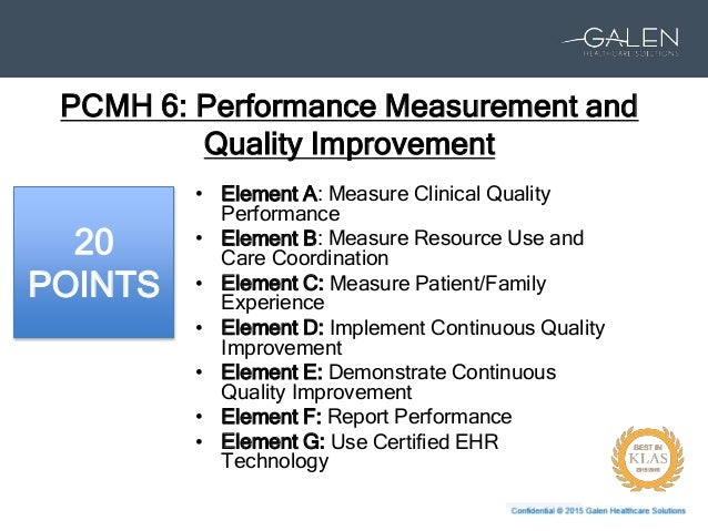 PCMH: Part 4 – Learn How to Start or Improve Your Quality Improvement…