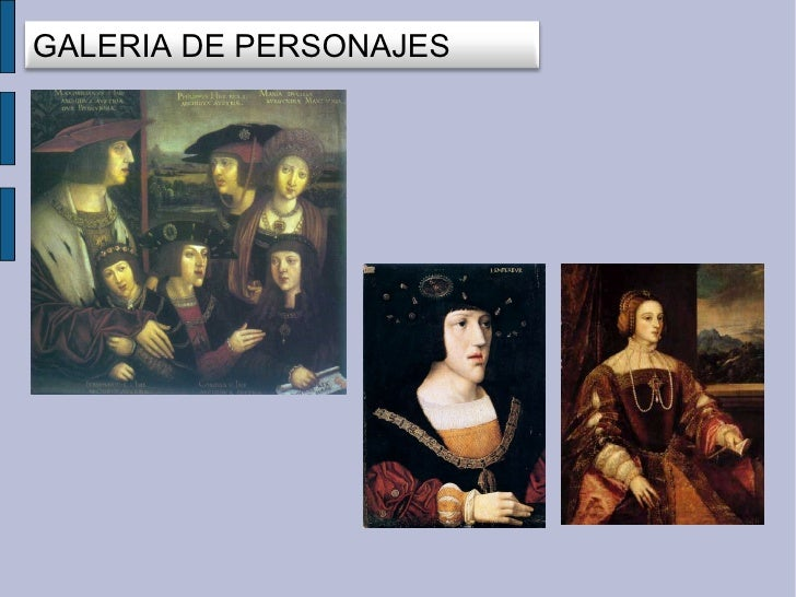 GALERIA DE PERSONAJES