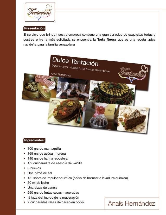 El servicio que brinda nuestra empresa contiene una gran variedad de exquisitas tortas y postres entre la más solicitada s...