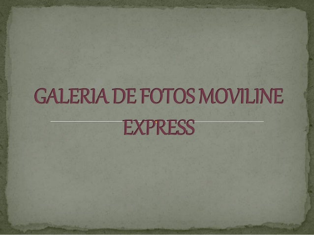 Galeria de fotos moviline express (1)