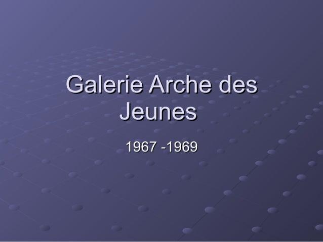 Galerie pp essai