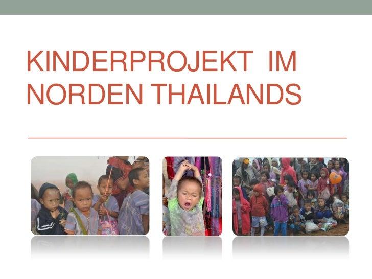 KINDERPROJEKT IMNORDEN THAILANDS