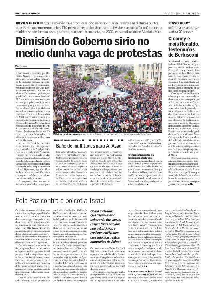 POLÍTICA > MUNDO                                                                                                          ...