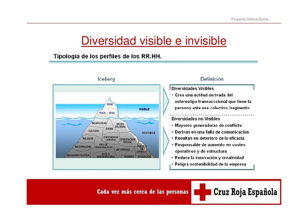 Proyecto Galicia SumaDiversidad visible e invisible