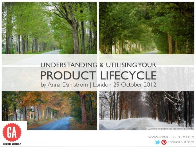 UNDERSTANDING & UTILISING YOURPRODUCT LIFECYCLEby Anna Dahlström | London 29 October 2012                                 ...