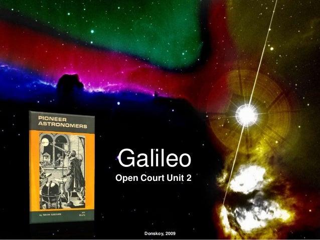 Galileo Open Court Unit 2 Donskoy, 2009