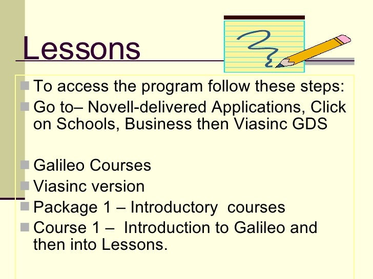 galileo gds study guide