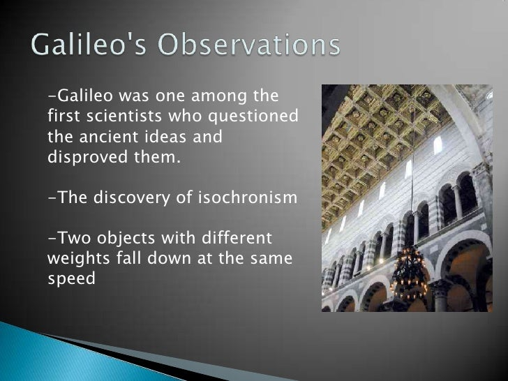 the life discoveries and achievements of galileo galilei Johannes kepler: johannes kepler,  among kepler's many other achievements,  (1571–1630), and galileo galilei.