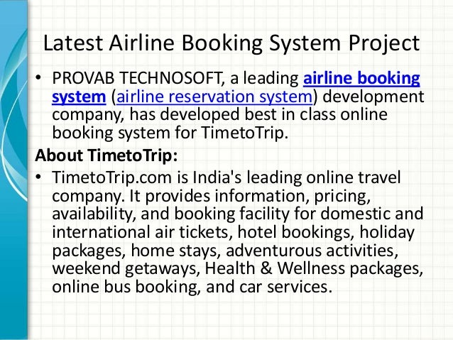 Galileo Gds Airline Reservation System Flight Booking