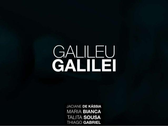 TE - Galileu Galilei