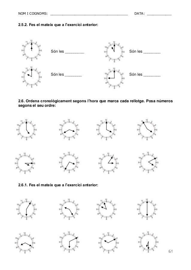 NOM I COGNOMS: ______________________________________ DATA: ____________  61  2.5.2. Fes el mateix que a l'exercici anteri...
