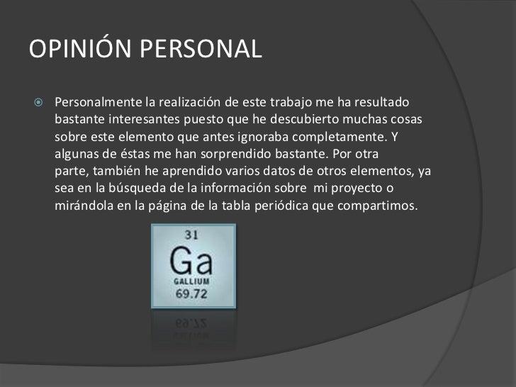 12 - Tabla Periodica De Los Elementos Galio