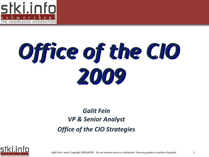 Office of the CIO       2009  Your Text here                                                                              ...