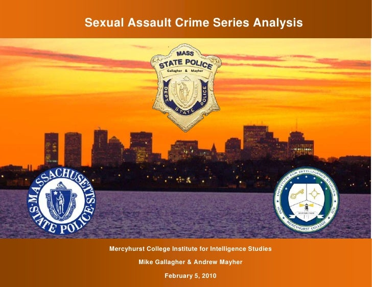 Sexual Assault Crime Series Analysis3128010240030-94264794593<br />&MayherGallagher <br />6341110271780<br />-18605555880<...