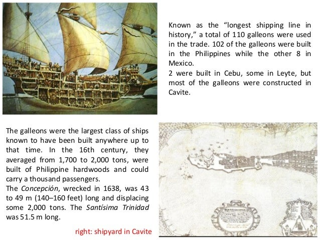 reaction about the galleon trade in the philippine s Our export-oriented economy, for example, can be traced back to the ending of the galleon trade and the subsequent liberalization and tying of the country to the world market, coupled with the lack of industrial advancement in the islands philippine history is a unique narrative of colonialism, reaction, and revolution.