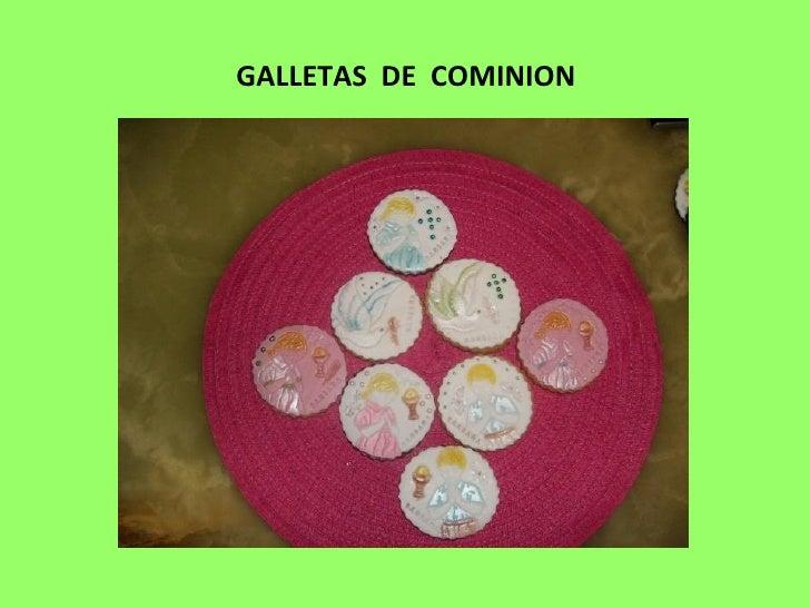 GALLETAS DE COMINION