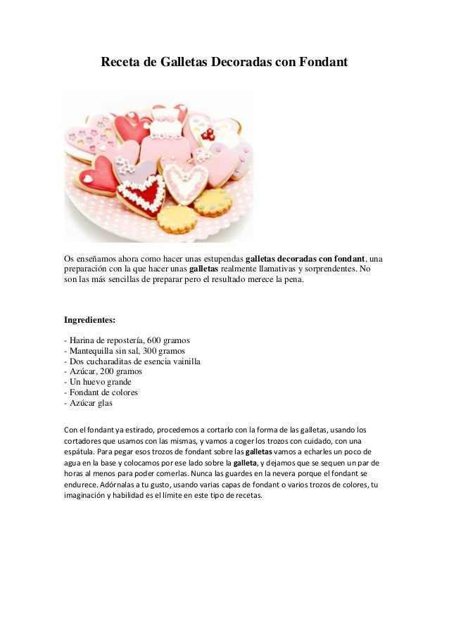 Galletas Decoradas Pdf