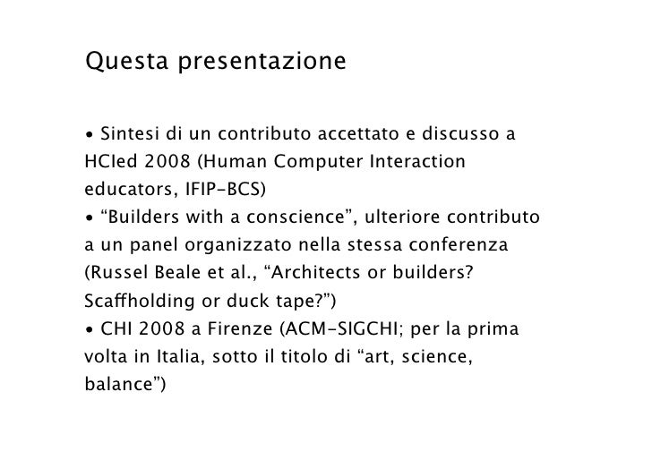 Galli Design Methodology course Slide 3