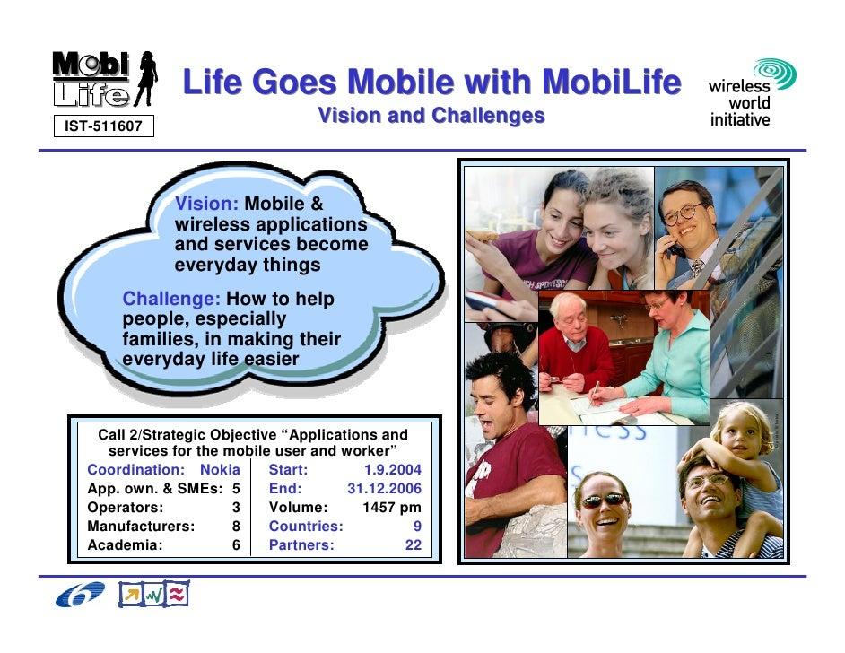 Galli Ricerca E Sviluppo Beyond 3 G Il Progetto Mobi Life Slide 2