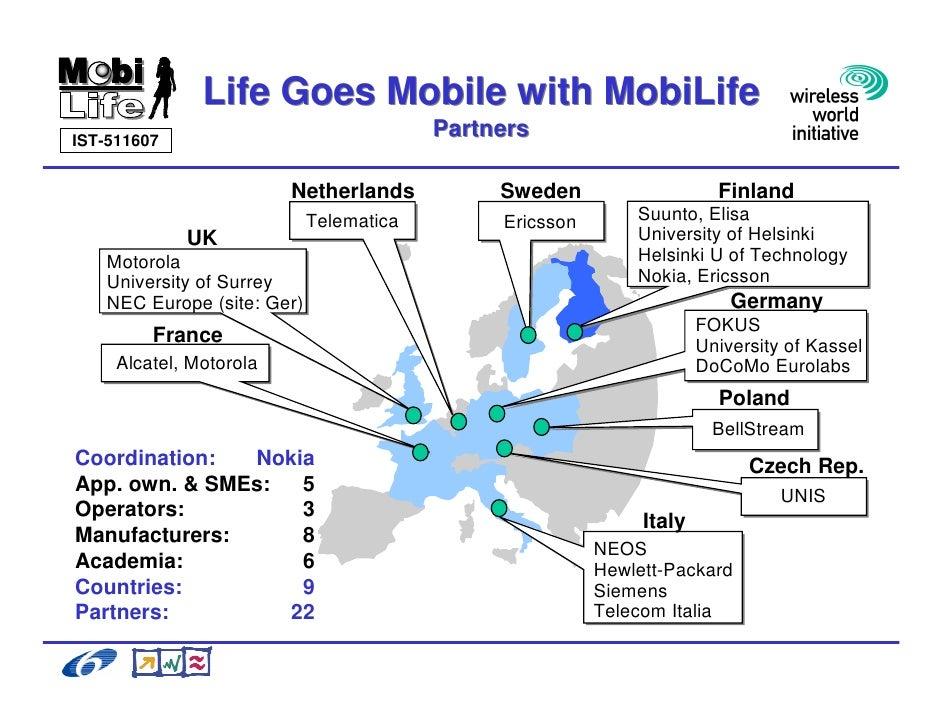 Galli Ricerca E Sviluppo Beyond 3 G Il Progetto Mobi Life Slide 3