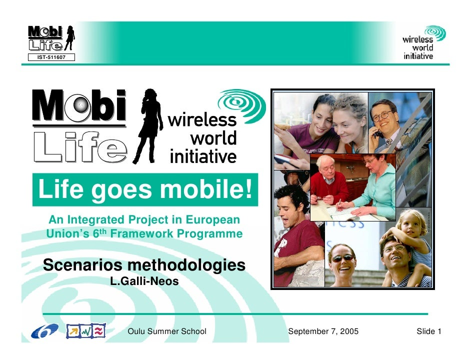 IST-511607     Life goes mobile!                                                                   All photos © Nokia    A...