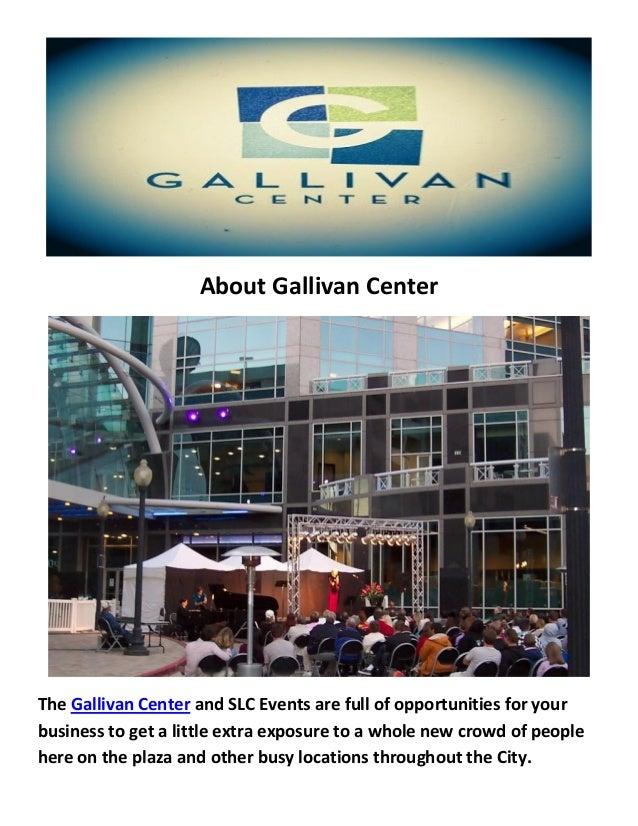 Gallivan Center Wedding Reception Venues In Salt Lake City