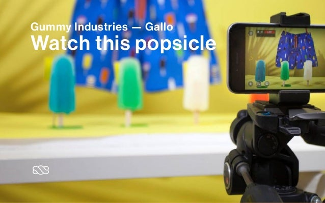 Gummy Industries — Gallo Watch this popsicle