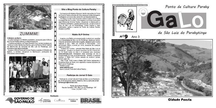 Jornal O Galo de São Luiz do Parahytinga 9