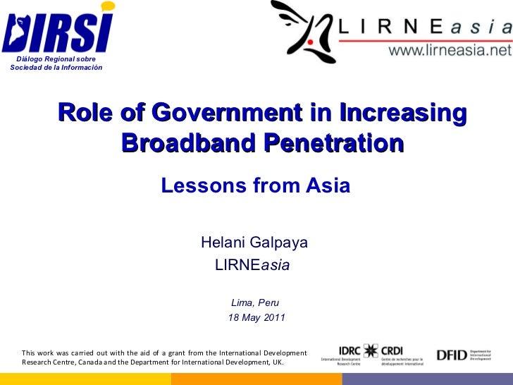 That broadband penetration in canada something