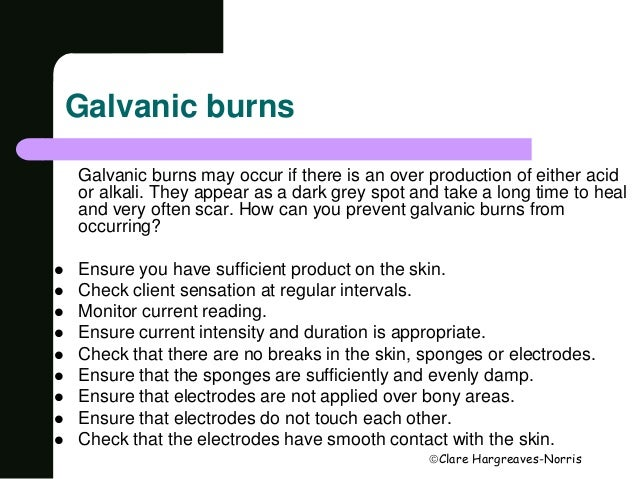 how to use galvanic machine for facial in hindi