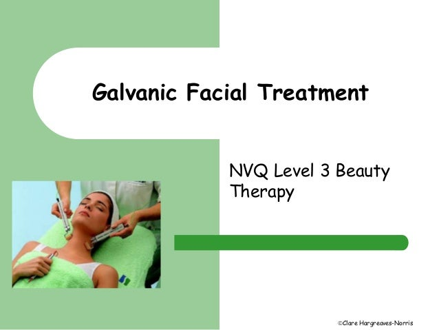 What is a galvanic facial