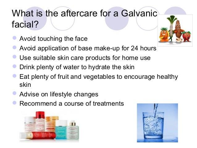 Galvanic facials