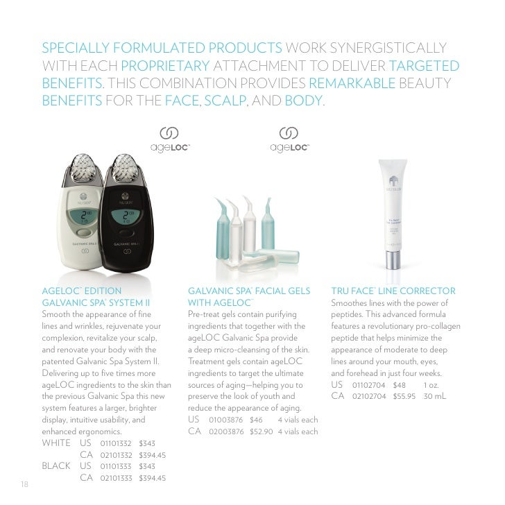 how to use galvanic spa system ii
