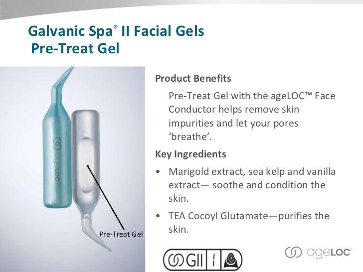 Nu Skin Galvanic Spa Pre Treat And Treatment Facial Gels