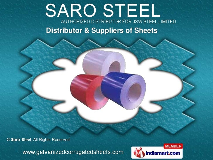 Distributor & Suppliers of Sheets