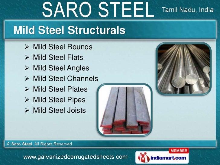 Mild Steel Structurals     Mild Steel Rounds     Mild Steel Flats     Mild Steel Angles     Mild Steel Channels     M...