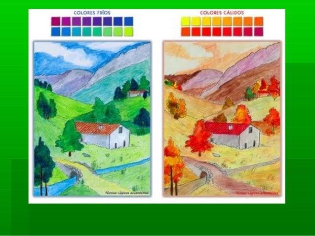 Dibujos Con Colores Para Pintar: Dibujos Pintados Con Colores Frios