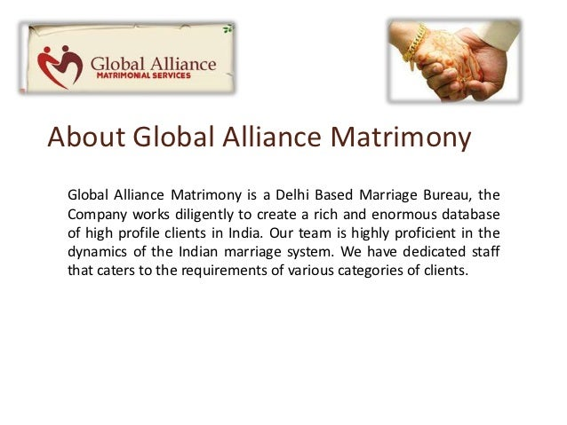 alliance dating agency