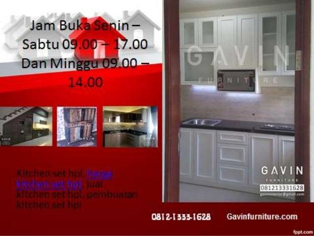 Kitchen Set Duco Putih Dengan Model Terbaru