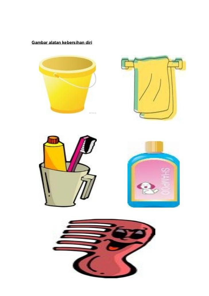 Gambar Alatan Kebersihan Diri