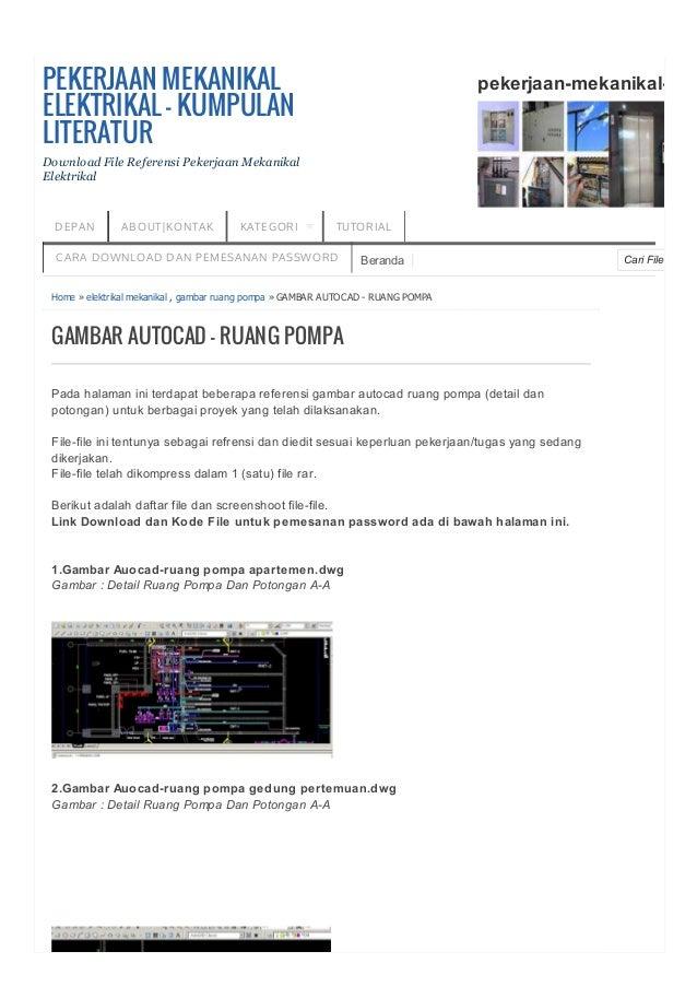 Cari FileBeranda DEPAN ABOUT|KONTAK KATEGORI TUTORIAL CARA DOWNLOAD DAN PEMESANAN PASSWORD Home » elektrikal mekanikal , g...