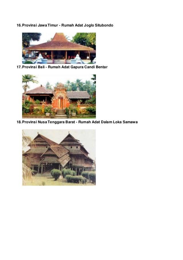 gambar dan nama rumah adat dari 33 provinsi di indonesia 6 638