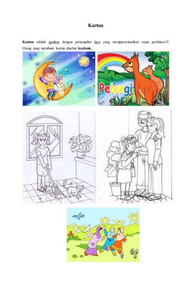 88+ Gambar Seni Ilustrasi Kartun Terbaik