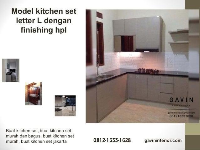 Gambar Kitchen Set Terbaru Minimalis Dan Klasik By Gavin