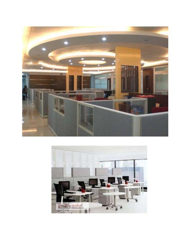Contoh Gambar Tata Ruang Kantor Semi Tertutup 2021
