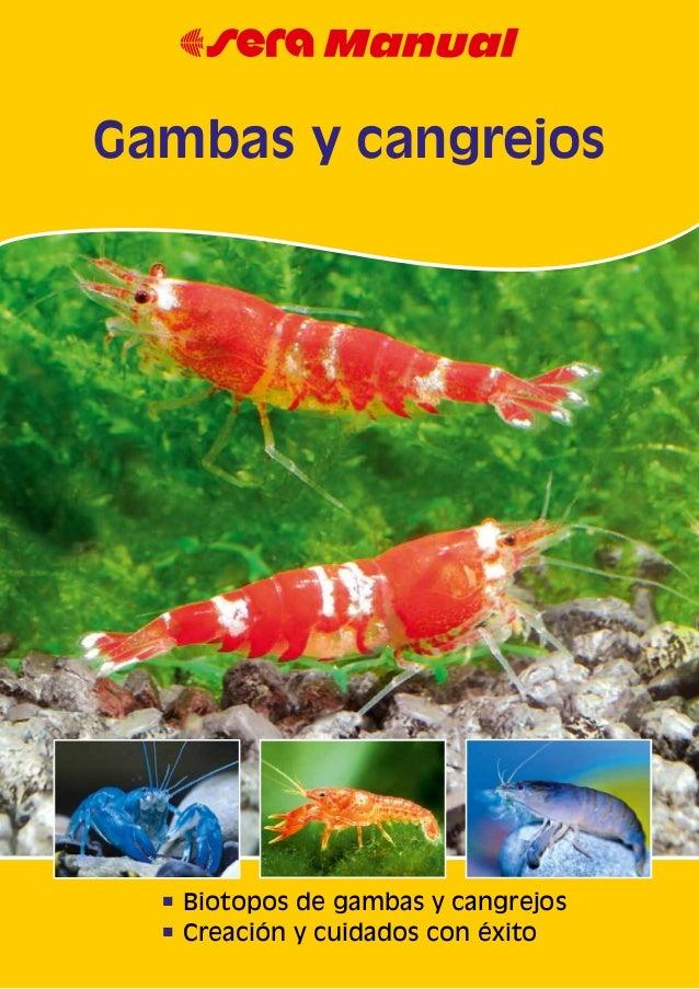 n Biotopos de gambas y cangrejos n Creación y cuidados con éxito Gambas y cangrejos